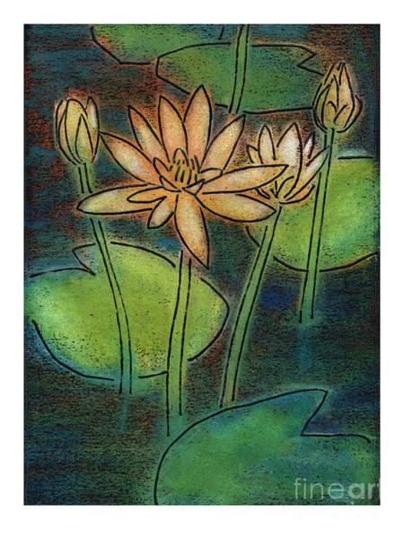 Painting - Waterlilies - Jlwll by Julie Lonneman