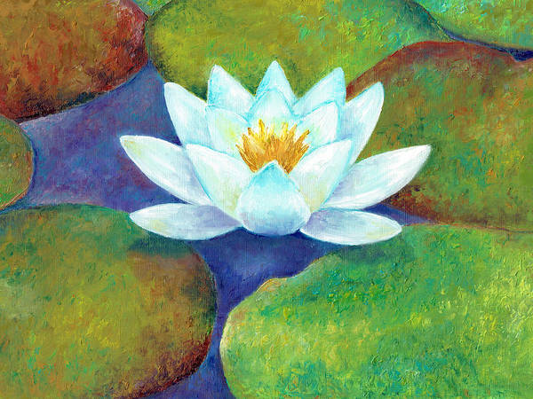 Painting - Waterlily by Elizabeth Lock