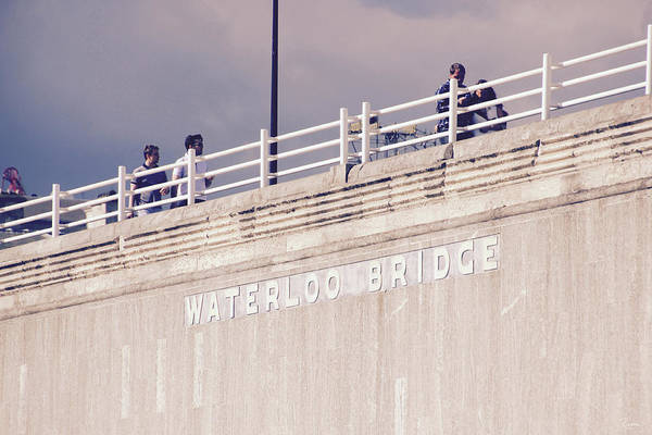 Photograph - Waterloo Bridge by Rasma Bertz