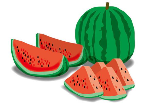 Digital Art - Watermelon by Moto-hal