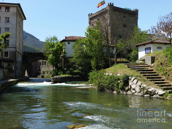 Photograph - Waters Meet, Potes by Phil Banks