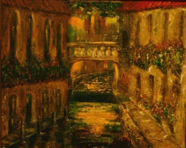 Stephen King Painting - Waters Of Europe by Stephen King
