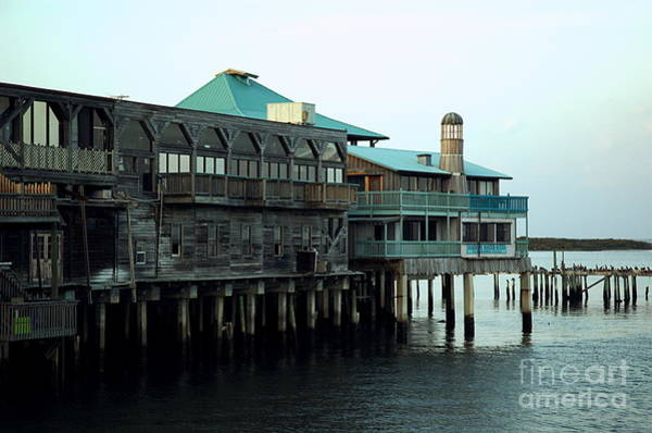 Photograph - Waterside - Cedar Key by Kathi Shotwell