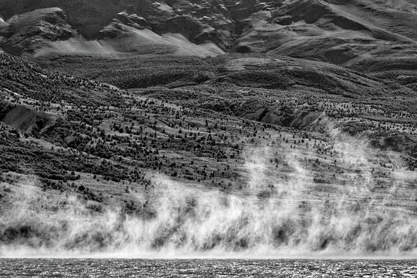 Photograph - Waterspouts On Viedma Lake - Patagonia by Stuart Litoff