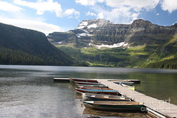 Photograph - Waterton Lake by Wilko Van de Kamp