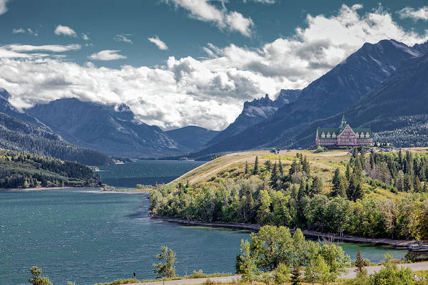 Photograph - Waterton Lakes by Ronald Lutz