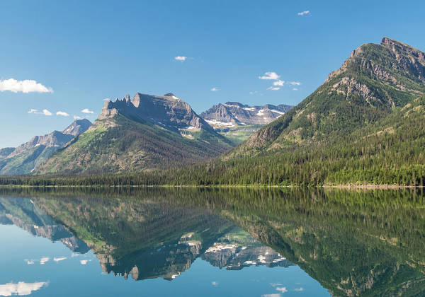 Photograph - Waterton Reflection #4 by Patti Deters