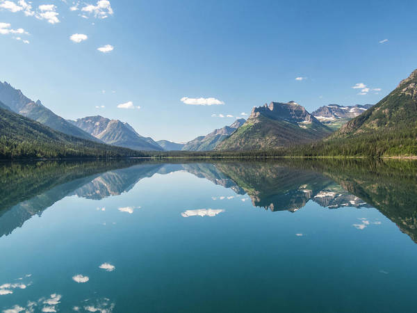 Photograph - Waterton Reflection #5 by Patti Deters
