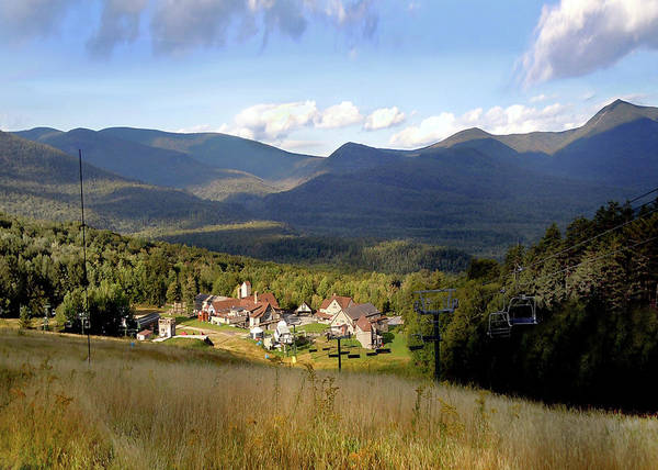Photograph - Waterville Valley Ski Area by Nancy Griswold