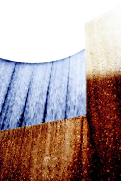 Photograph - Waterwall Abstract by Angela Rath