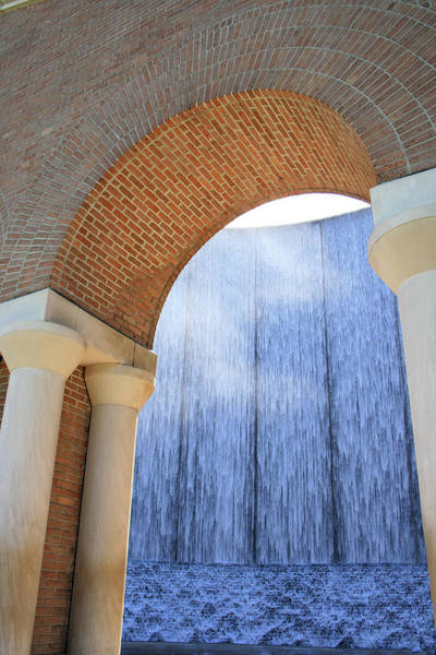 Photograph - Waterwall And Arch 2 by Angela Rath