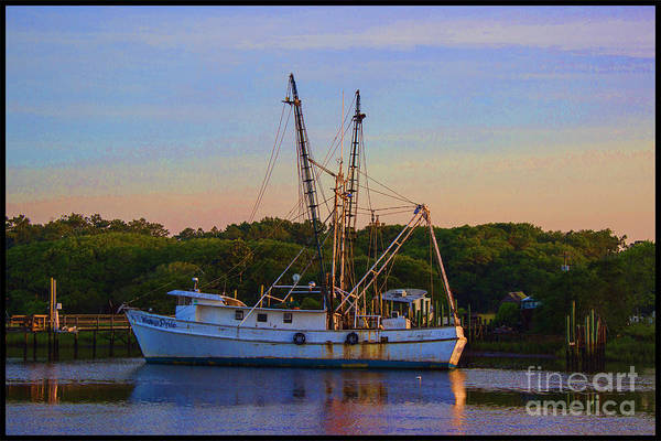 Photograph - Old Shrimper by Roberta Byram