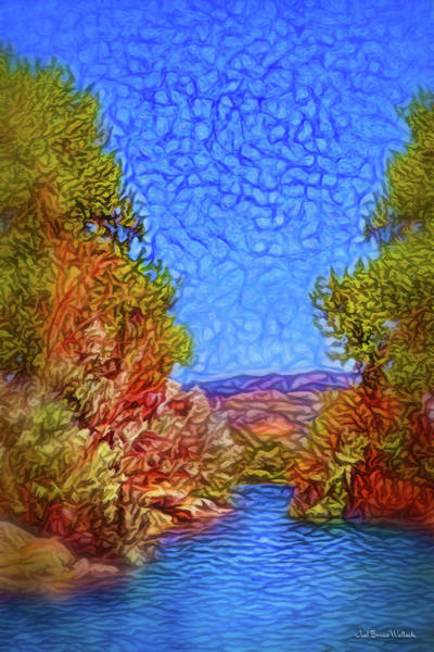 Digital Art - Waterway Reverie by Joel Bruce Wallach