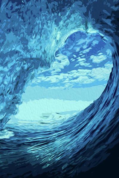 Painting - Waterworld by Andrea Mazzocchetti