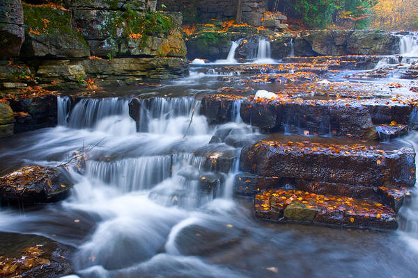 Photograph - Watery Steps by David Heilman