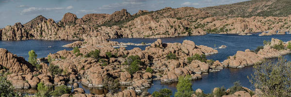 Photograph - Watson Lake Panorama 3 by Teresa Wilson
