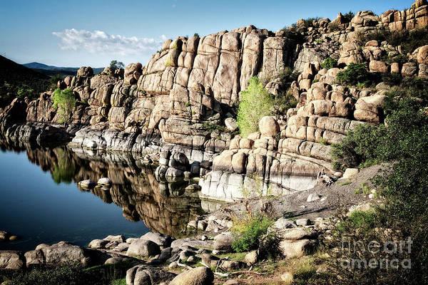 Photograph - Watson Lake Reflection by Scott Kemper