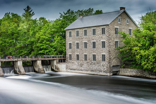 Photograph - Watson's Mill In Spring by Miles Whittingham