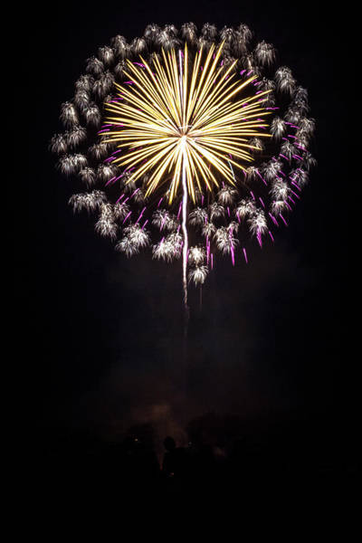 Photograph - Waukesha Fireworks 03 by Jeanette Fellows