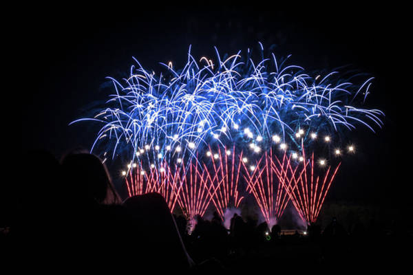 Photograph - Waukesha Fireworks 04 by Jeanette Fellows