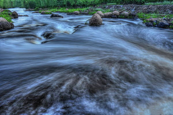 Photograph - Wausau Whitewater Course Out Flow by Dale Kauzlaric