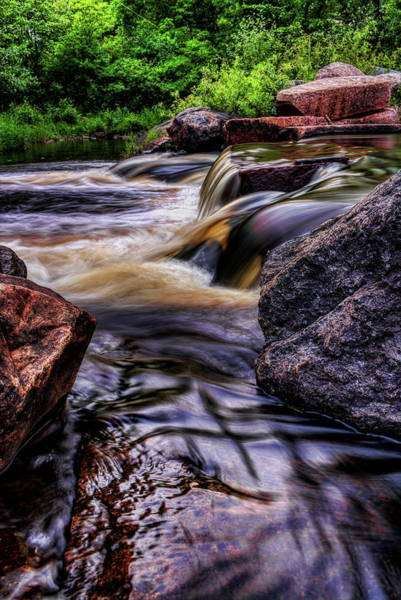 Photograph - Wausau Whitewater Course Side View by Dale Kauzlaric