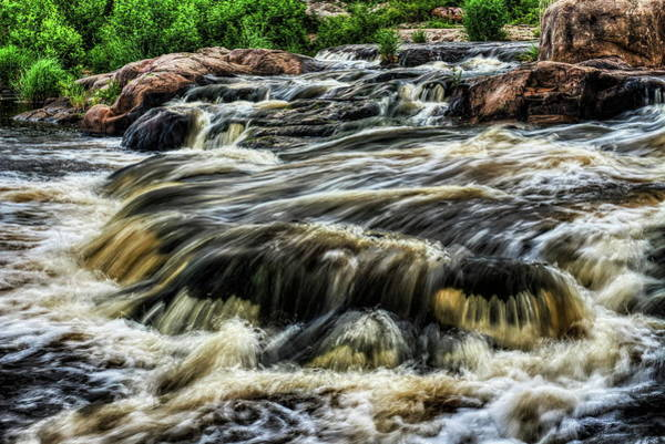 Photograph - Wausau Whitewater Course Waterfall by Dale Kauzlaric