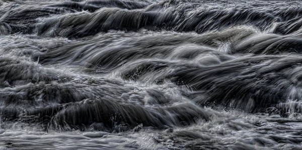 Photograph - Wausau's Whitewater Abstract by Dale Kauzlaric
