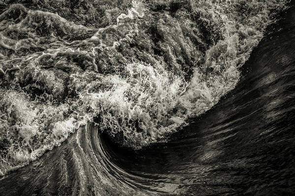 Photograph - Wave Action by Michael Arend