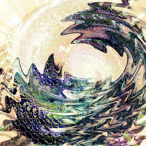 Digital Art - Wave by Barbara Berney