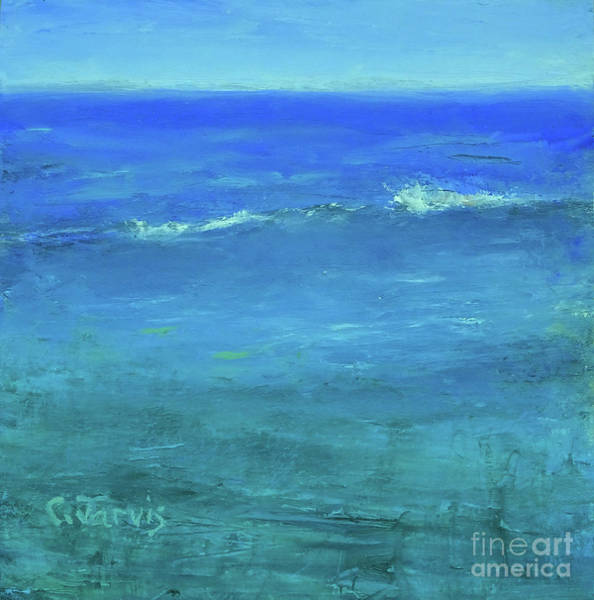 Painting - Wave by Carolyn Jarvis