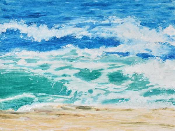 Painting - Wave  by Emily Warren