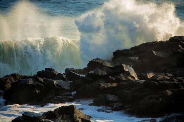 Photograph - Wave Energy by Nancy De Flon