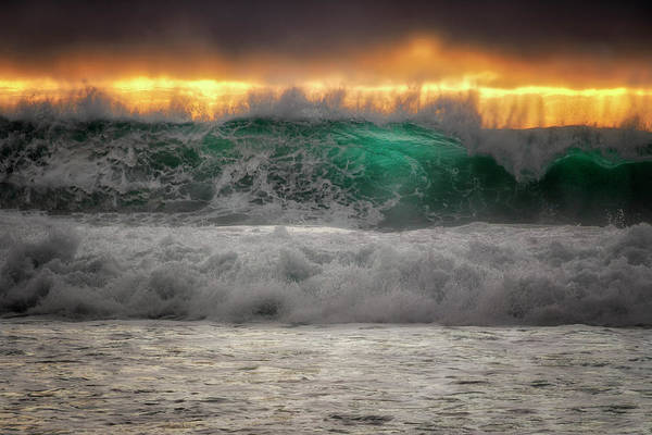 Monterey Park Photograph - Wave Impact  by Nicki Frates