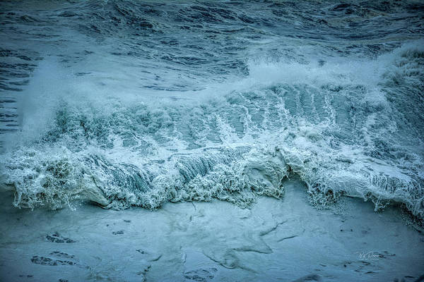 Photograph - Wave Lace by Bill Posner