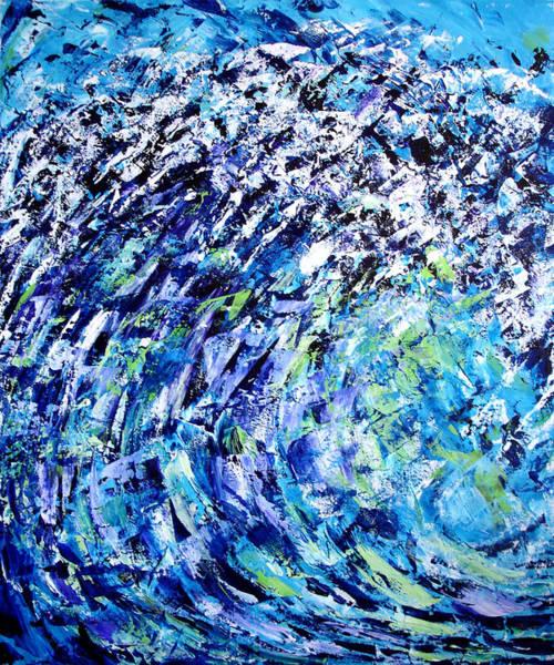 Painting - Wave by Lynda Lehmann