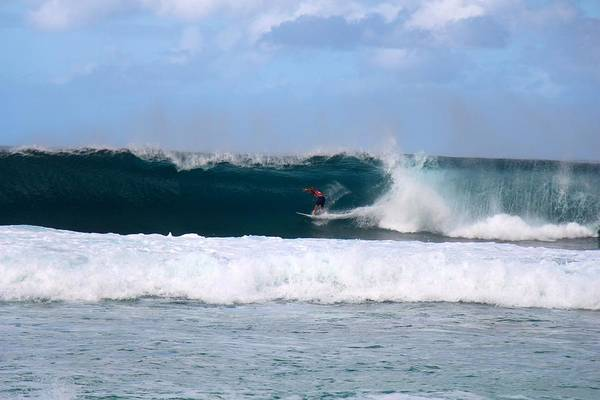 Bodyboard Photograph - Wave Magnet by Benen  Weir