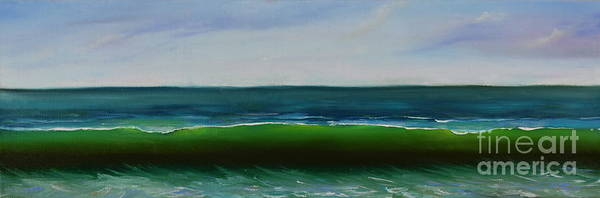 Painting - Wave by Mary Scott