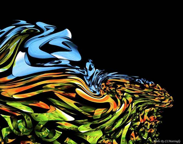 Wave Of Colors Art Print
