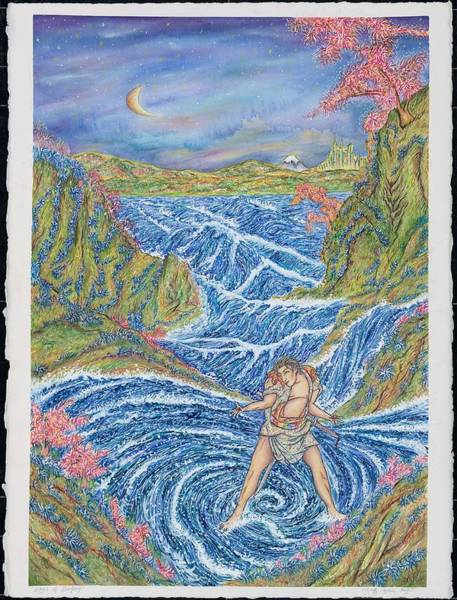 Troll Mixed Media - Wave Of Destiny by Joseph Lawrence Vasile