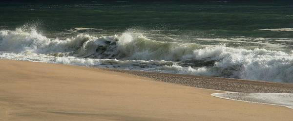 Photograph - Wave Of Light - Jersey Shore by Angie Tirado