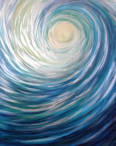 Painting - Wave Of Light by Michelle Pier