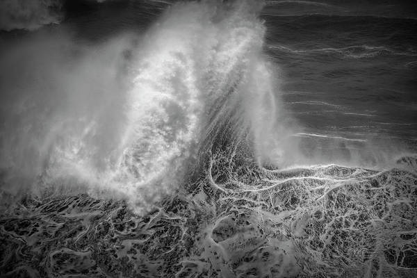 Photograph - Wave Stand With Glow by Bill Posner