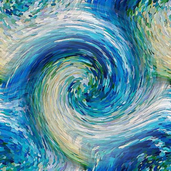 Digital Art - Wave To Van Gogh II by David Manlove