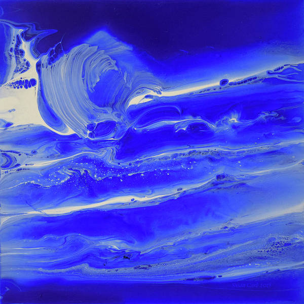 Wall Art - Painting - Waves And Oceans Of Grace by Susan Card