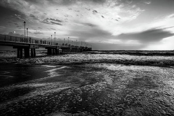 Photograph - Waves And The Pier by Matteo Viviani