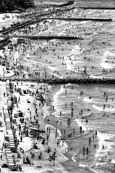 Photograph - Waves At Bocagrande by John Rizzuto
