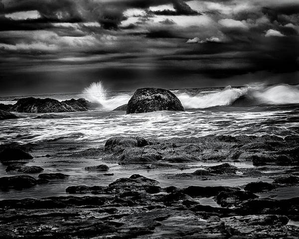 Photograph - Waves At Dawn by Denise Dube