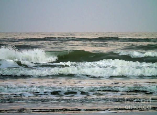 Photograph - Waves At New Smyrna by D Hackett
