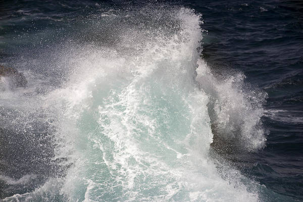 Photograph - Waves At The Coast Of Curacao by For Ninety One Days